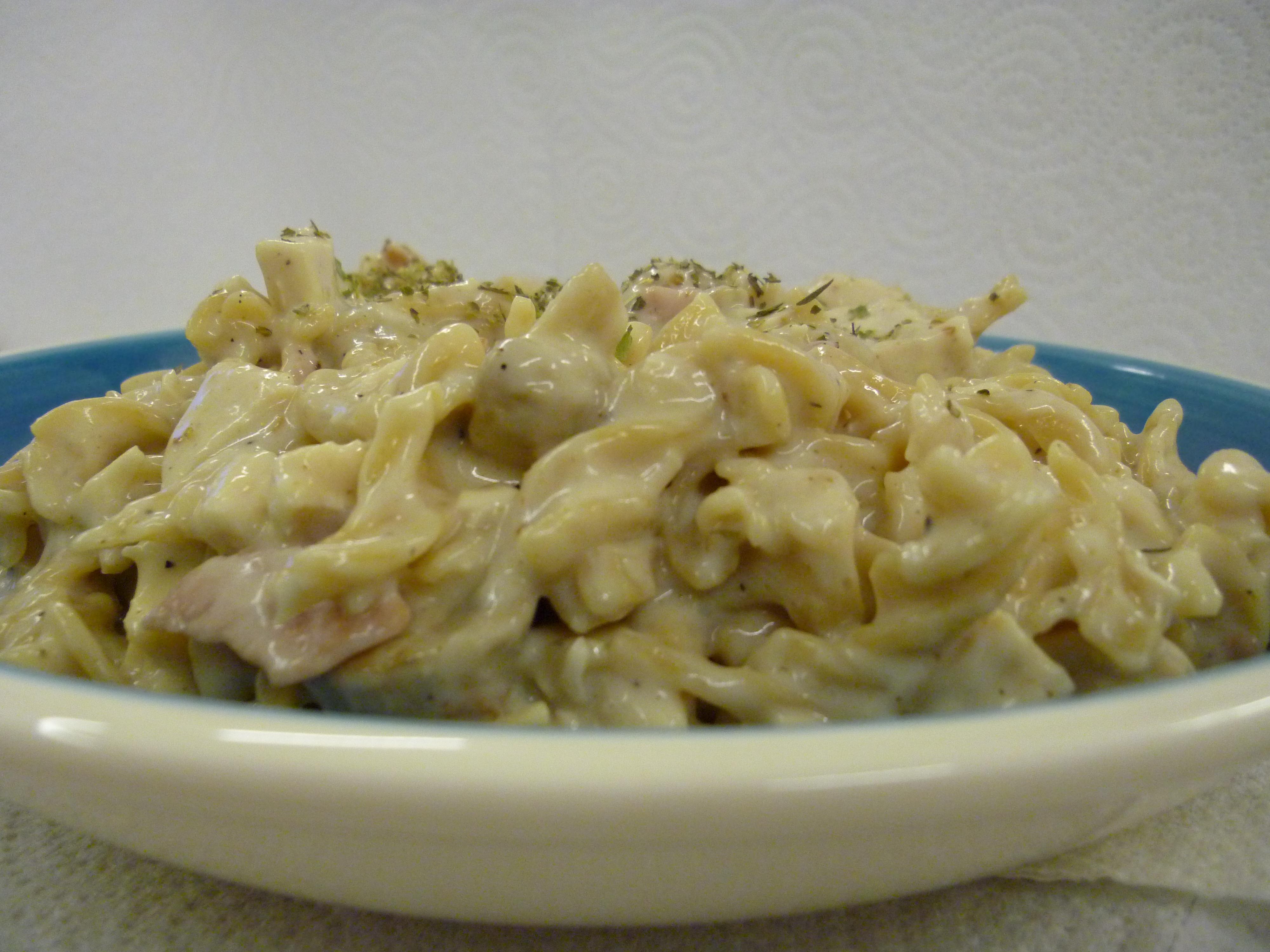 Chicken bacon pasta recipe mushrooms